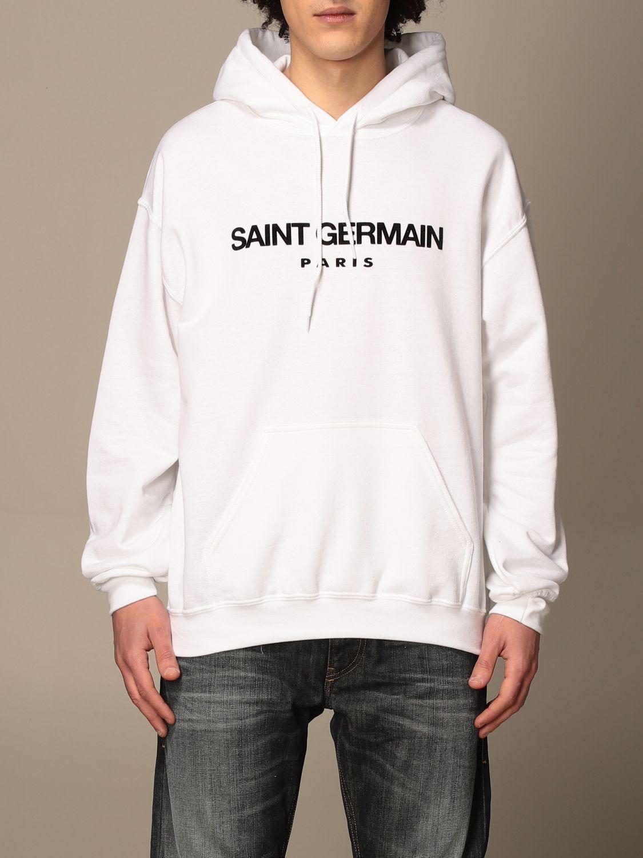 Sweatshirt Backsideclub: Sweatshirt homme Backsideclub blanc 1