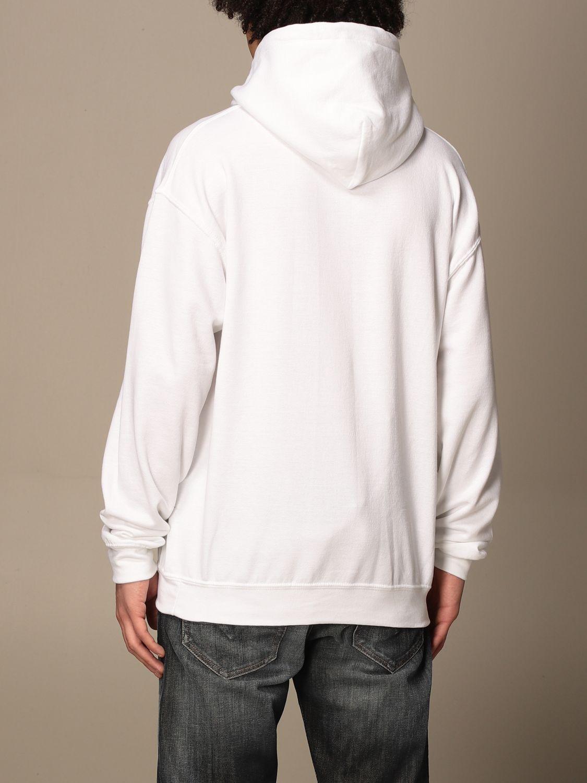 Sweatshirt Backsideclub: Sweatshirt homme Backsideclub blanc 2