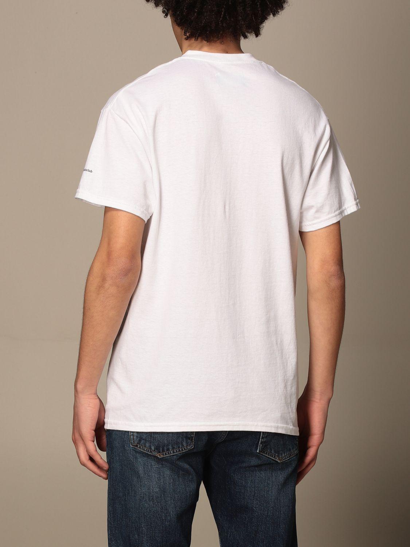 T-shirt Backsideclub: T-shirt men Backsideclub white 2