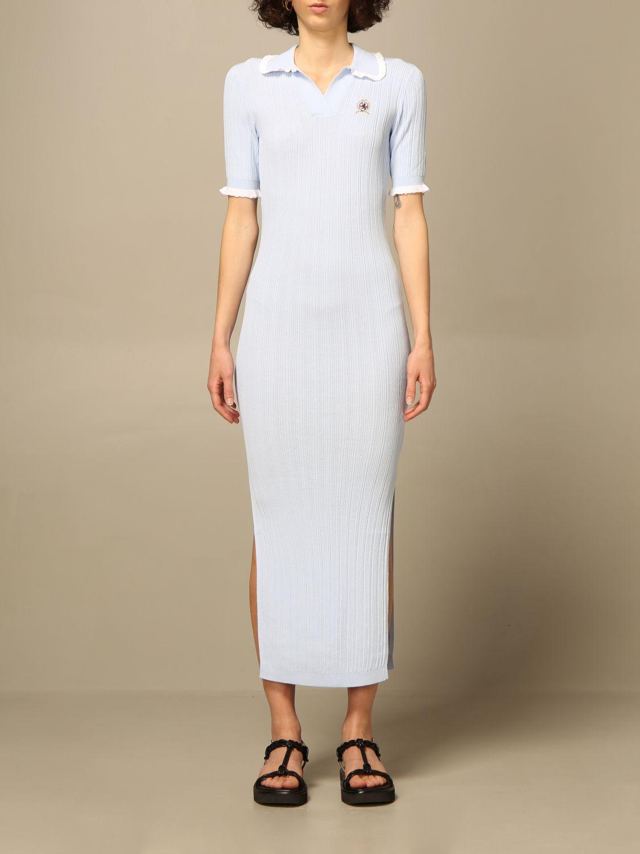 Kleid Hilfiger Collection: Kleid damen Hilfiger Collection hellblau 1