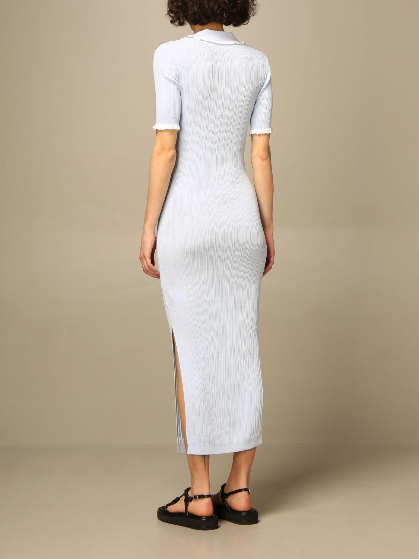 Kleid Hilfiger Collection: Kleid damen Hilfiger Collection hellblau 2
