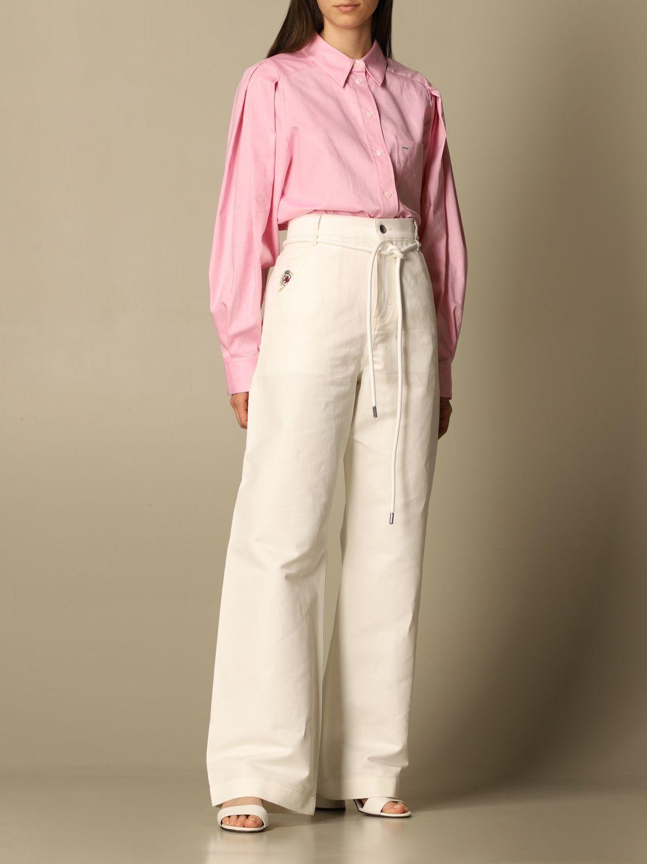 Jeans Hilfiger Collection: Hose damen Hilfiger Collection yellow cream 2