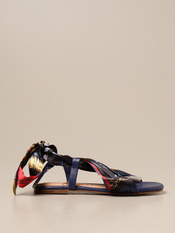 Flat sandals Hilfiger Collection: Shoes women Hilfiger Collection blue 1