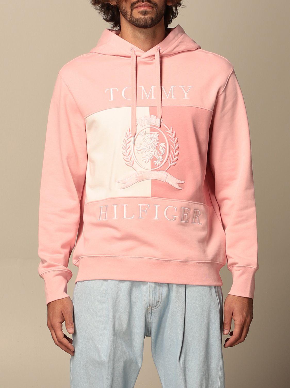 Sweatshirt Hilfiger Collection: Sweatshirt herren Hilfiger Collection pink 1