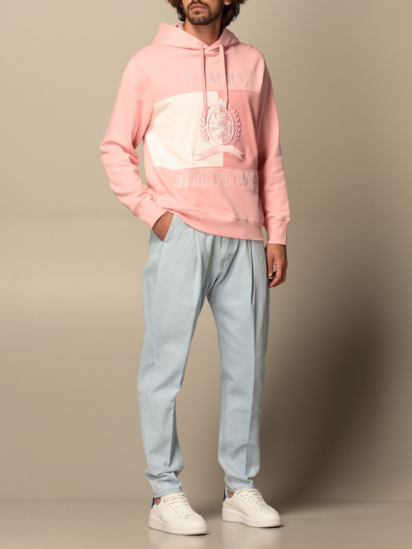 Sweatshirt Hilfiger Collection: Sweatshirt herren Hilfiger Collection pink 2