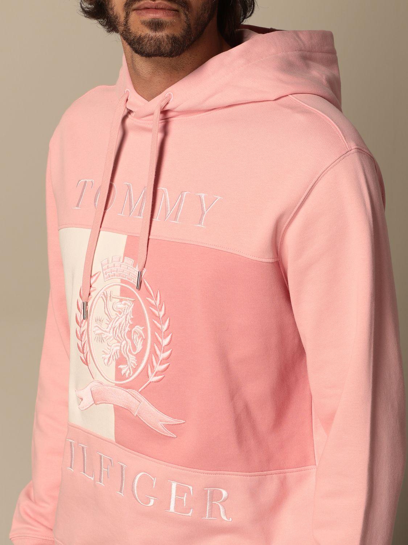Sweatshirt Hilfiger Collection: Sweatshirt herren Hilfiger Collection pink 4