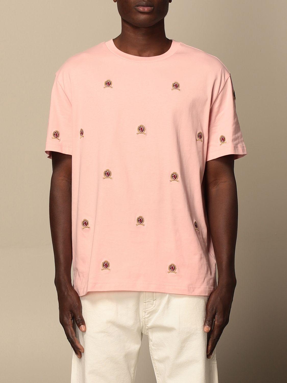 T-Shirt Hilfiger Collection: T-shirt herren Hilfiger Collection pink 1