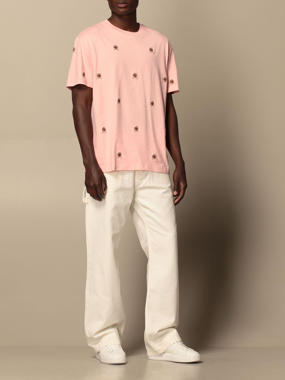 T-Shirt Hilfiger Collection: T-shirt herren Hilfiger Collection pink 2