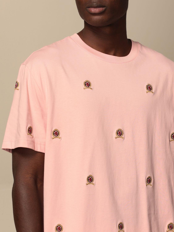 T-Shirt Hilfiger Collection: T-shirt herren Hilfiger Collection pink 4