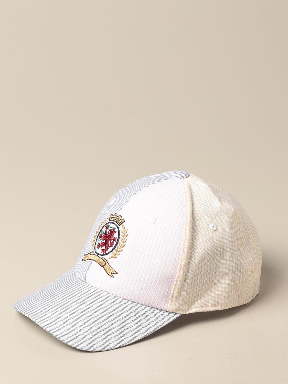 Hat Hilfiger Collection: Hat men Hilfiger Collection white 1