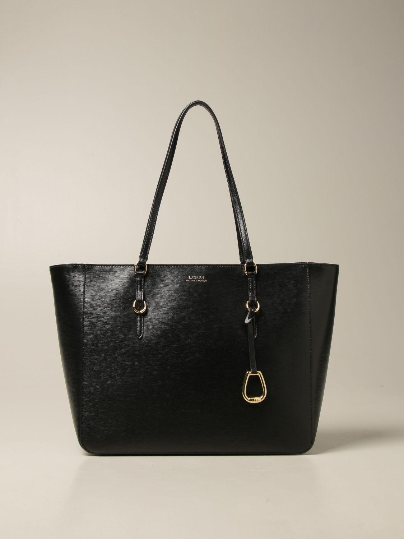Shoulder bag Lauren Ralph Lauren: Lauren Ralph Lauren large shopping bag black 1