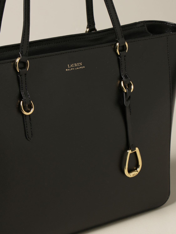 Shoulder bag Lauren Ralph Lauren: Lauren Ralph Lauren large shopping bag black 3