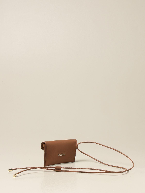 Кошелек Max Mara: Наплечная сумка Женское Max Mara кожаный 3