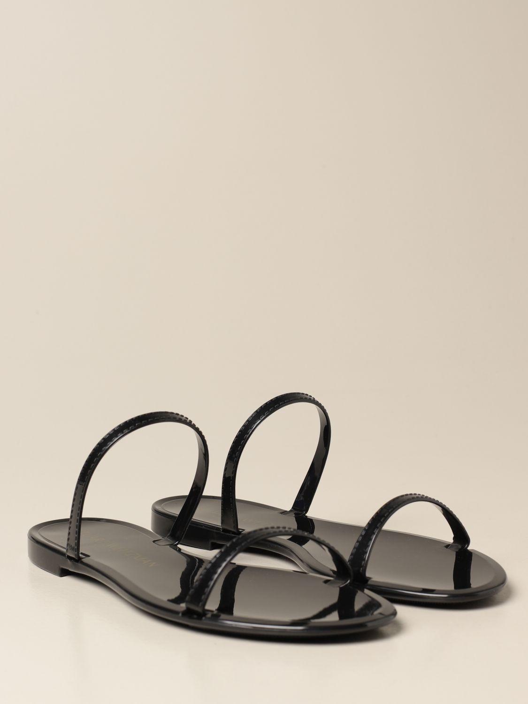 Flache Sandalen Stuart Weitzman: Schuhe damen Stuart Weitzman schwarz 2