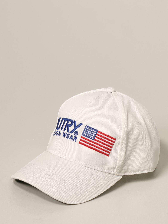 Cappello Autry: Cappello da baseball Autry con logo bianco 1