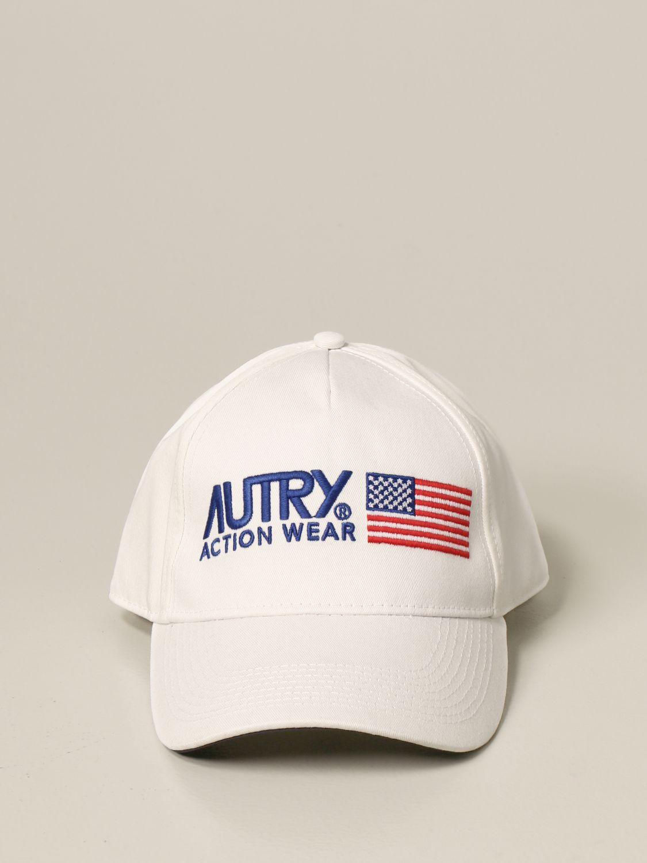 Cappello Autry: Cappello da baseball Autry con logo bianco 2