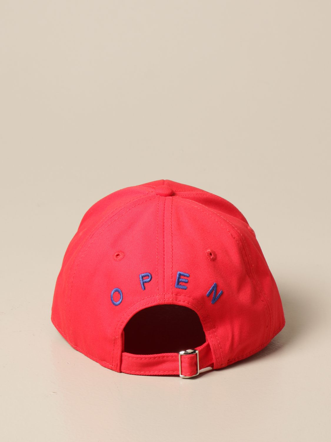 Hat Autry: Autry baseball cap with big logo red 3