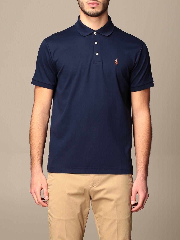 Polo Ralph Lauren Slim Fit Cotton Polo Shirt Polo Shirt Polo Ralph Lauren Men Navy Polo Shirt Polo Ralph Lauren 710713130 Giglio En
