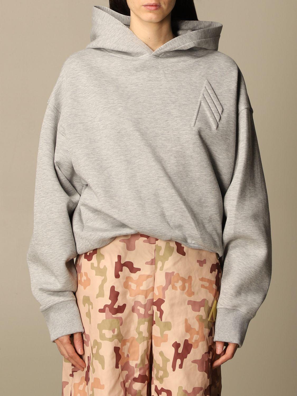 Sweatshirt The Attico: Sweatshirt damen The Attico grau 1