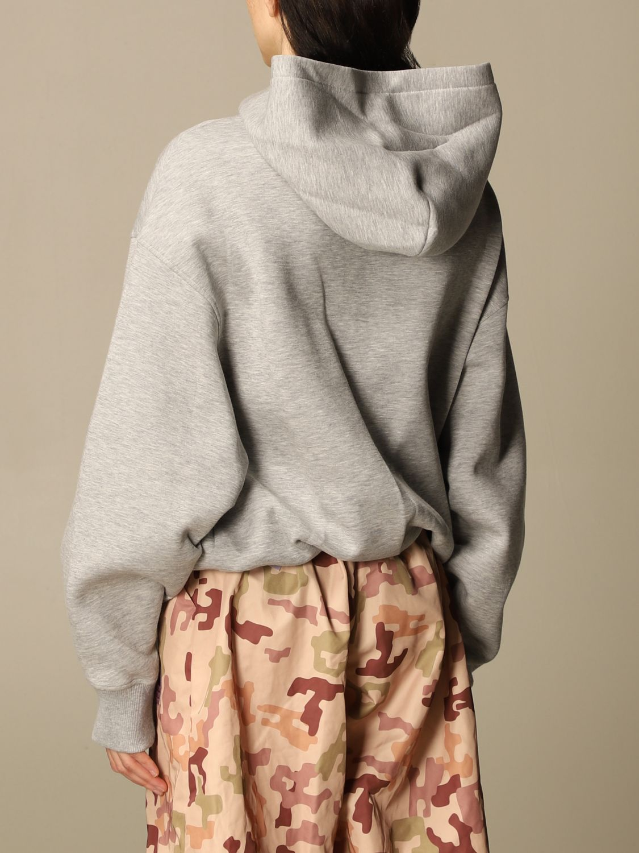 Sweatshirt The Attico: Sweatshirt damen The Attico grau 3