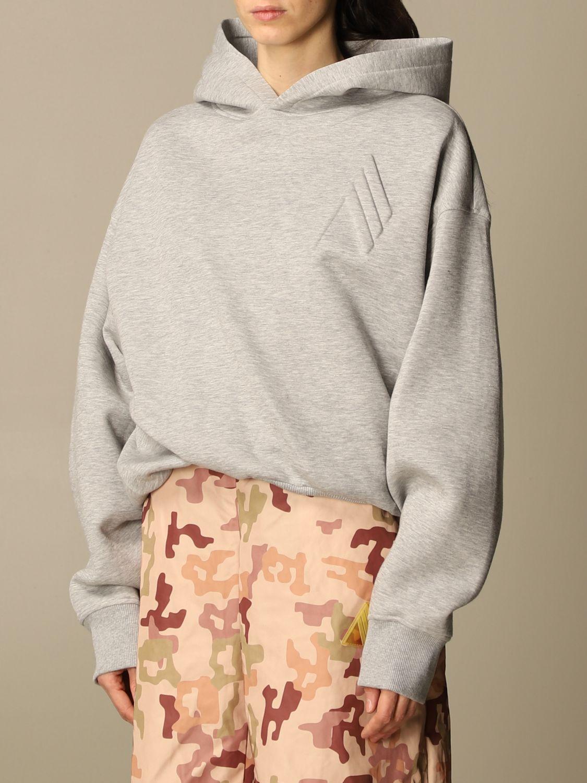 Sweatshirt The Attico: Sweatshirt damen The Attico grau 4