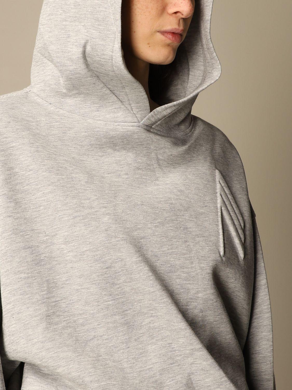 Sweatshirt The Attico: Sweatshirt damen The Attico grau 5
