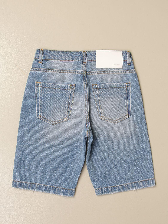 短裤 Siviglia: 牛仔裤 儿童 Siviglia 牛仔布 2