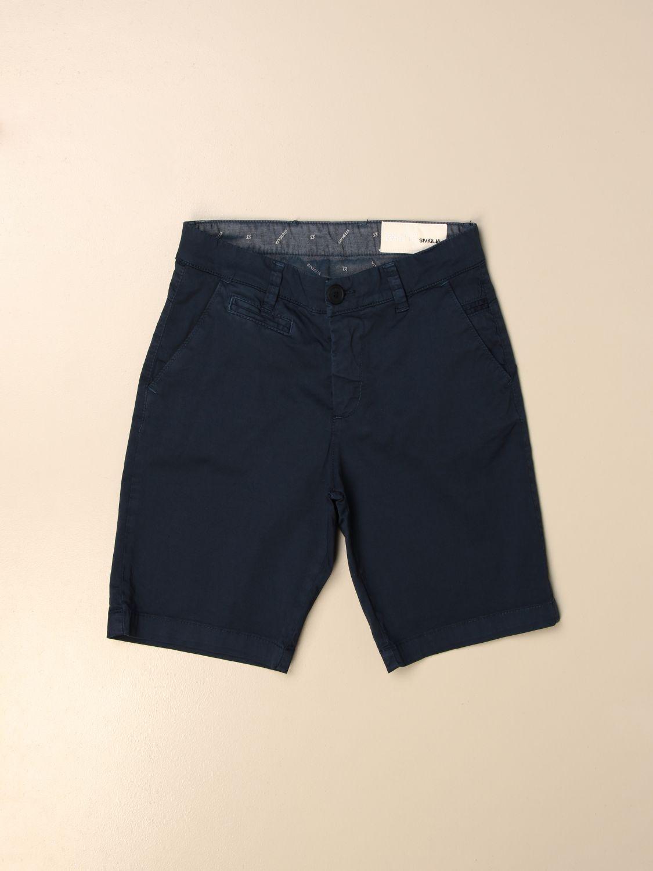 Pantalón corto Siviglia: Pantalón corto niños Siviglia azul marino 1