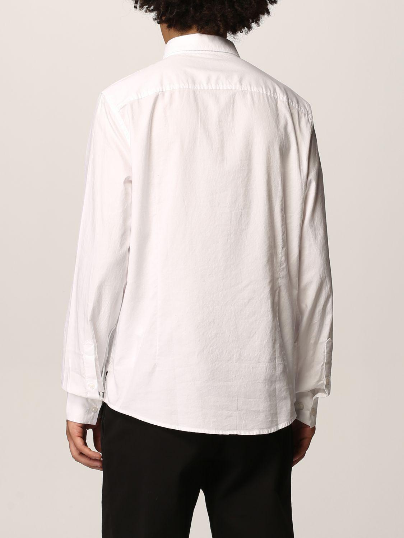 Camicia Armani Exchange: Collo italiano oxford basic bianco 2