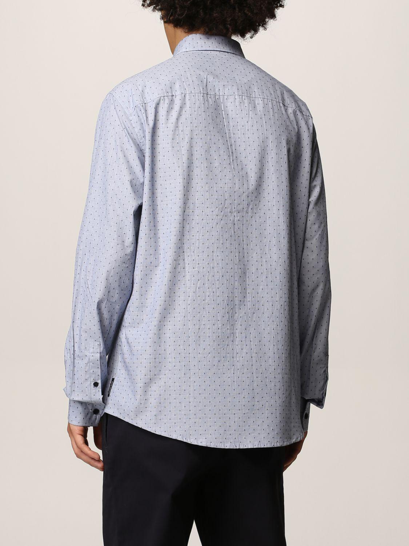 Рубашка Armani Exchange: Рубашка Мужское Armani Exchange голубой 2