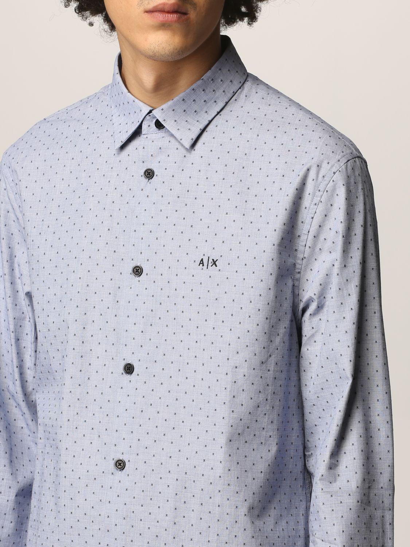 Рубашка Armani Exchange: Рубашка Мужское Armani Exchange голубой 3
