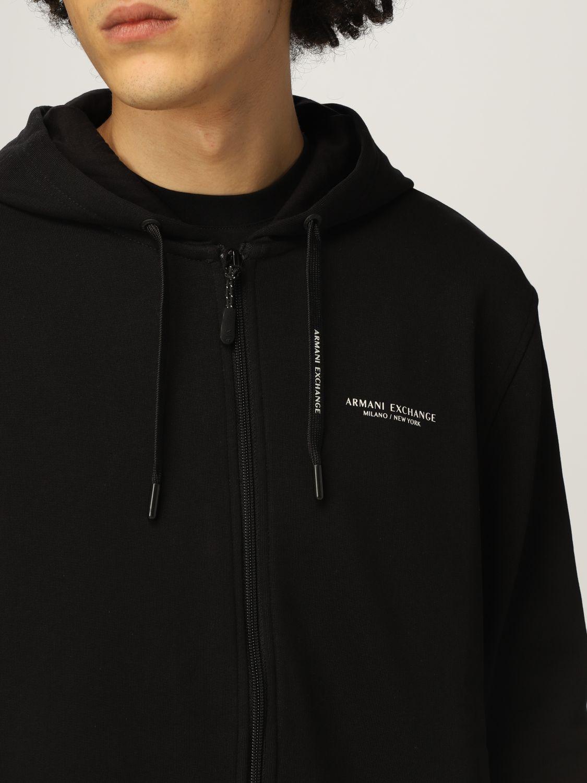 Sweatshirt Armani Exchange: Sweatshirt men Armani Exchange black 3