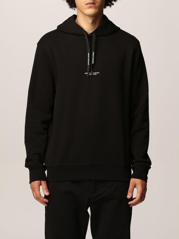 Sweatshirt Armani Exchange: Sweatshirt men Armani Exchange black 1