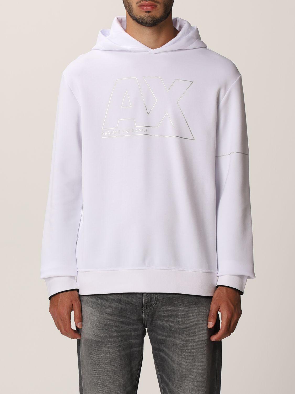 Sweatshirt Armani Exchange: Sweatshirt men Armani Exchange white 1