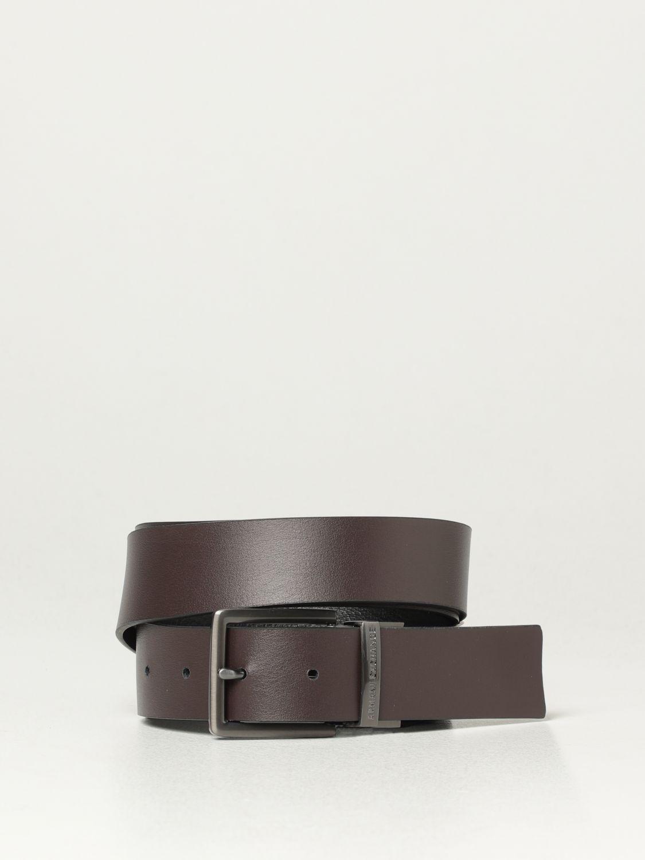 Cintura Armani Exchange: Cintura reversibile Armani Exchange in pelle nero 2