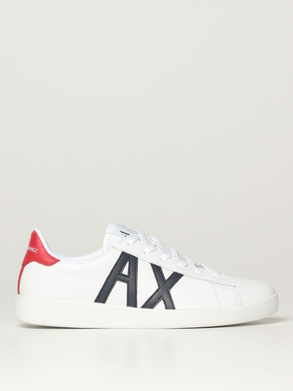 Sneakers Armani Exchange: Sneakers Armani Exchange in pelle blue 1