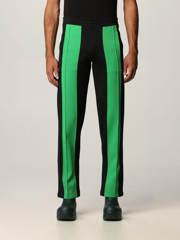 Pantalone Bottega Veneta: Pantalone Bottega Veneta in tessuto tecnico doppio nero 1