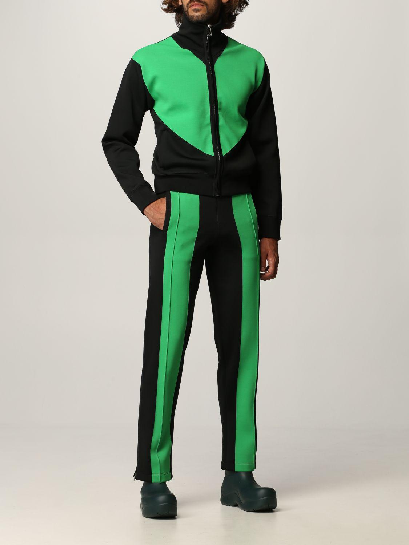 Pantalone Bottega Veneta: Pantalone Bottega Veneta in tessuto tecnico doppio nero 2
