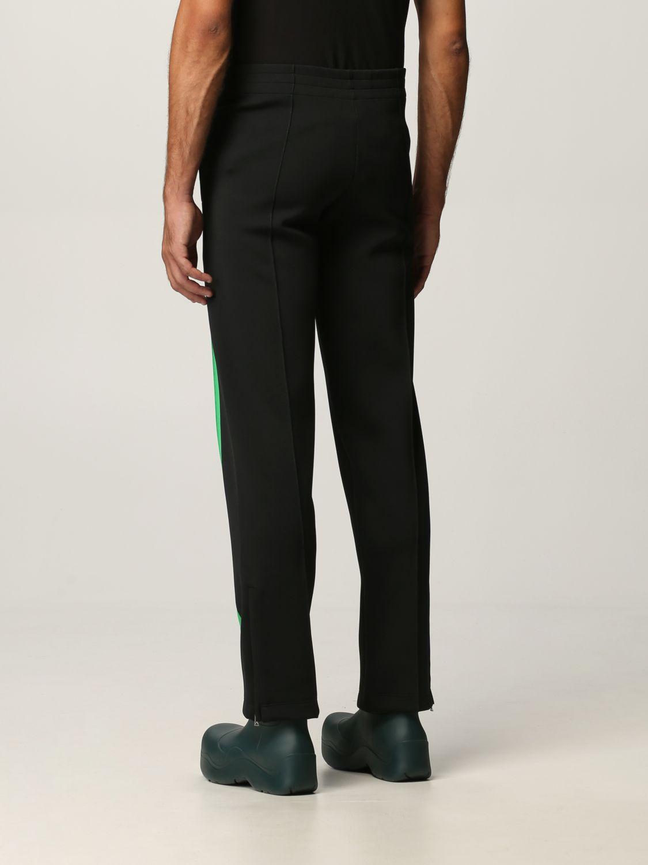 Pantalone Bottega Veneta: Pantalone Bottega Veneta in tessuto tecnico doppio nero 3