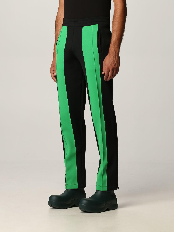 Pantalone Bottega Veneta: Pantalone Bottega Veneta in tessuto tecnico doppio nero 4