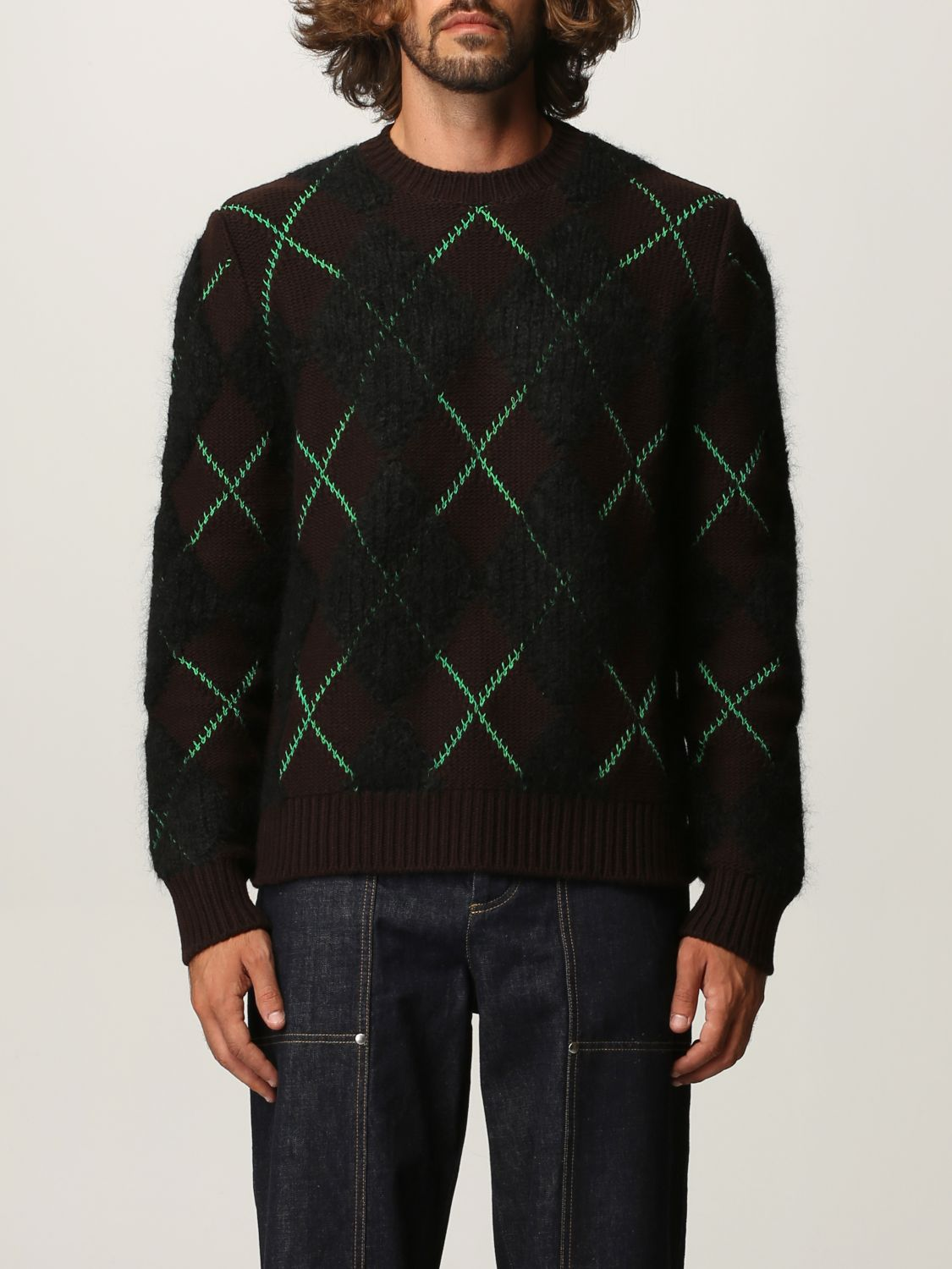 Sweater Bottega Veneta: Bottega Veneta sweater in wool and mohair dark 1