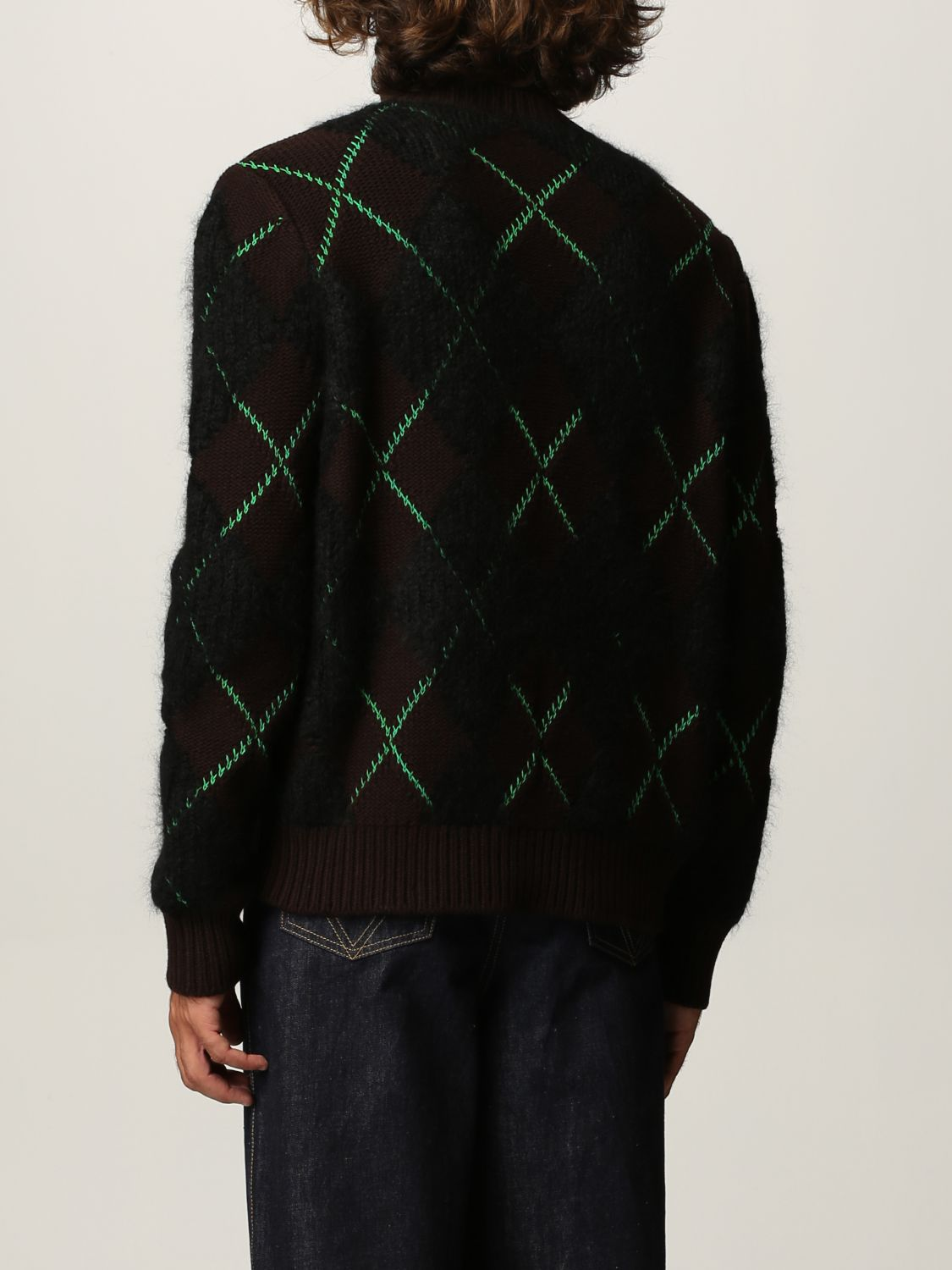 Sweater Bottega Veneta: Bottega Veneta sweater in wool and mohair dark 3