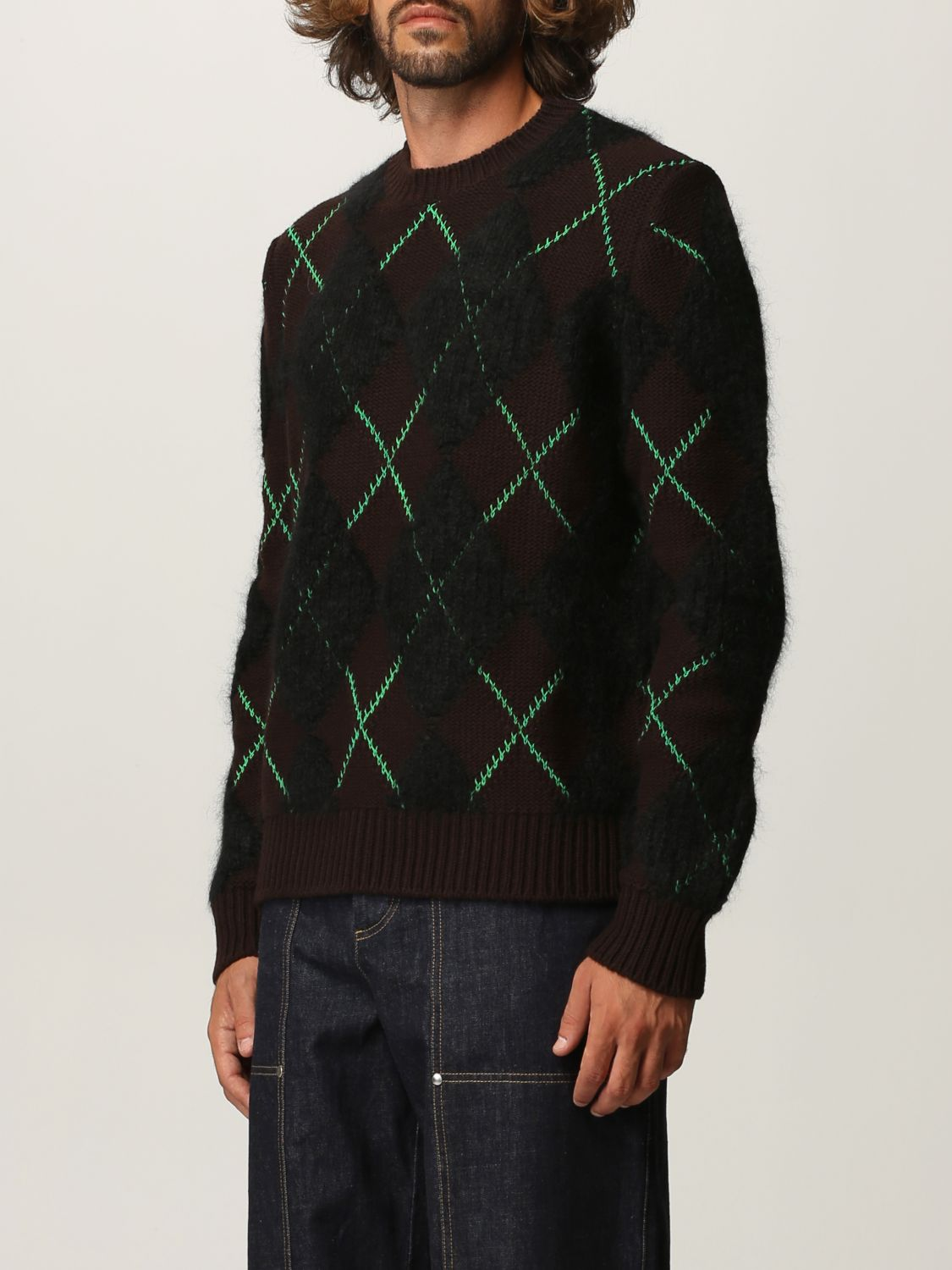 Sweater Bottega Veneta: Bottega Veneta sweater in wool and mohair dark 4