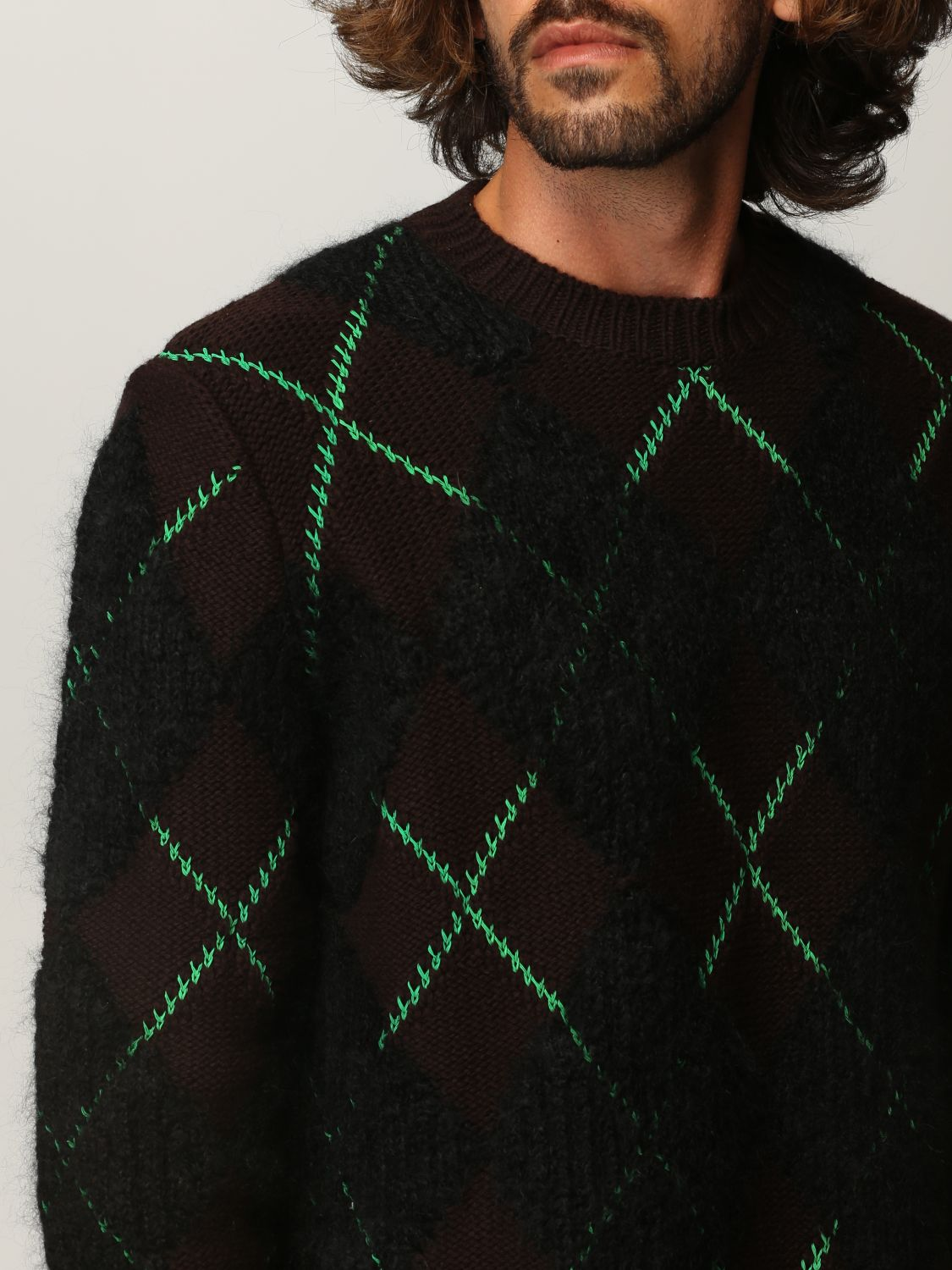 Sweater Bottega Veneta: Bottega Veneta sweater in wool and mohair dark 5