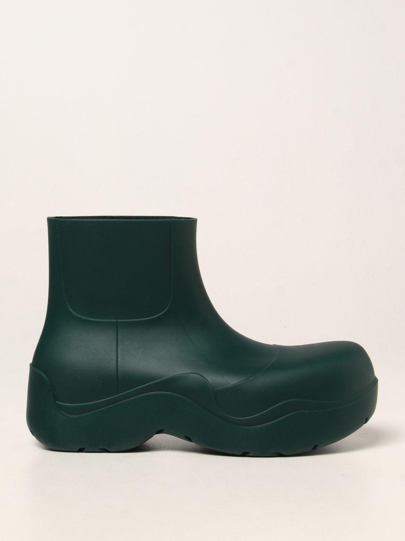 Boots Bottega Veneta: Bottega Veneta Puddle rubber boots mint 1