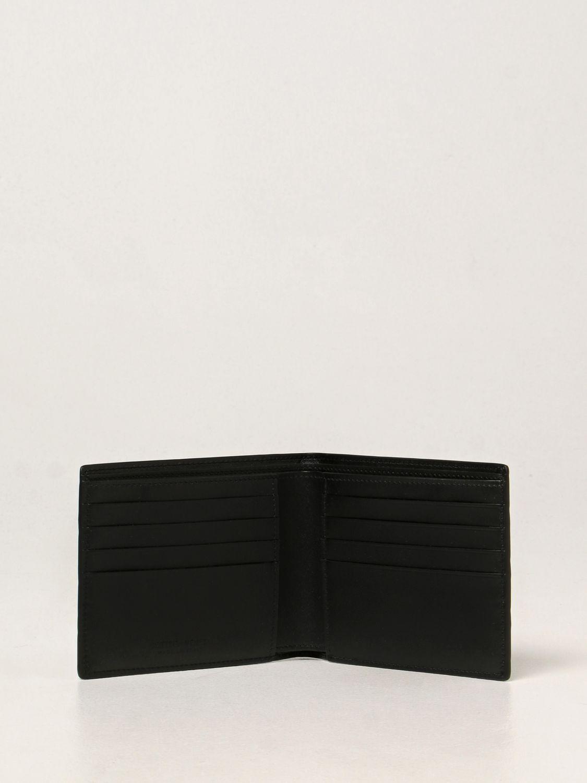 Portafoglio Bottega Veneta: Portafoglio Bottega Veneta in pelle intrecciata 1.5 nero 2