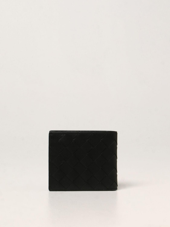 Portafoglio Bottega Veneta: Portafoglio Bottega Veneta in pelle intrecciata 1.5 nero 3
