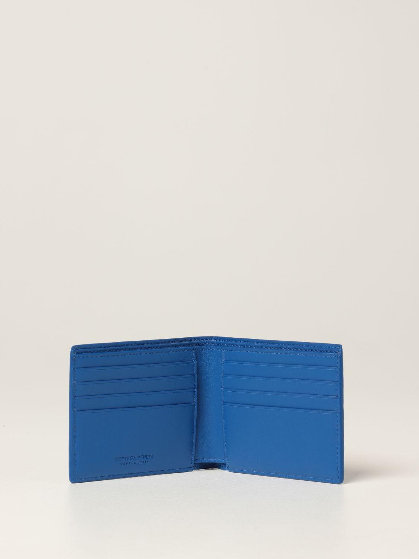 Wallet Bottega Veneta: Bottega Veneta wallet in woven leather 1.5 cobalt 2
