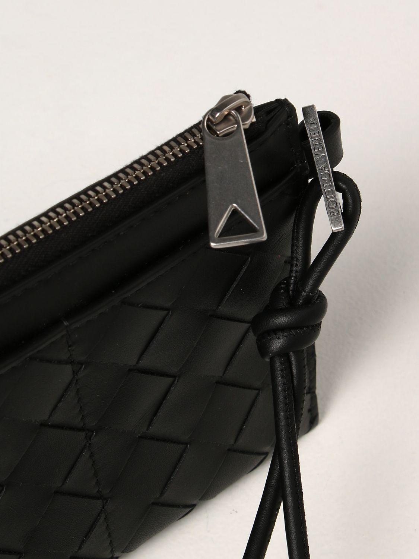 Portadocumenti Bottega Veneta: Portafoglio Bottega Veneta in pelle intrecciata 1.5 nero 3