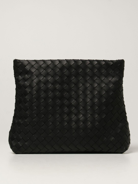 Briefcase Bottega Veneta: Bottega Veneta document holder in woven leather black 1
